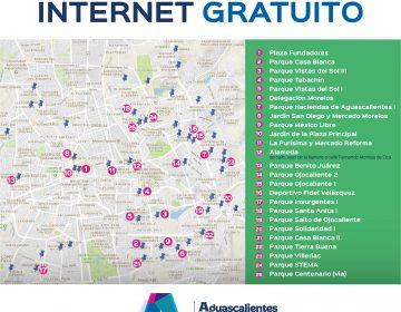 Internet gratuito en 50 Puntos de la ciudad