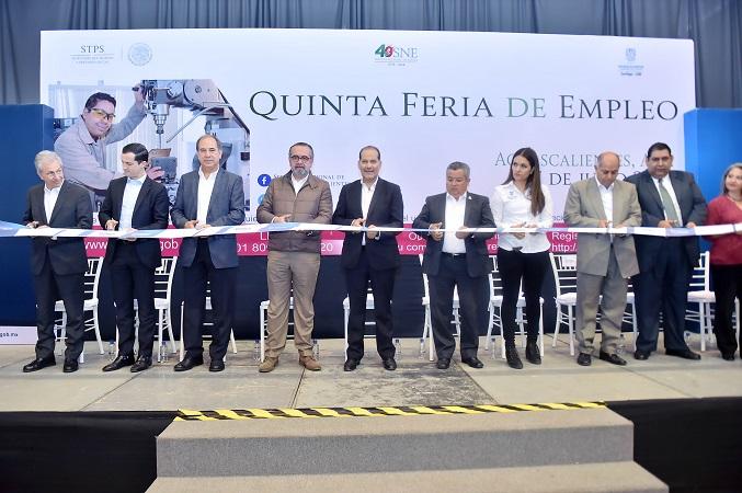 26 mil empleos se han generado en Aguascalientes desde el 2016