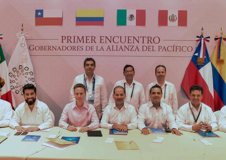 Se suman gobernadores con proyectos a la Alianza del Pacífico