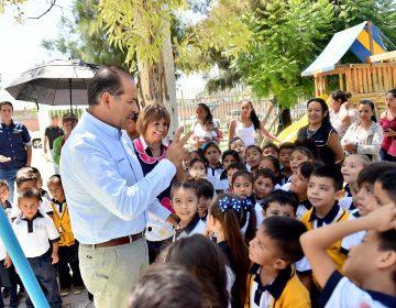 Entrega el gobernador infraestructura educativa por 2 millones de pesos