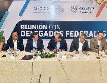 Destaca gobernador trabajo con delegados federales