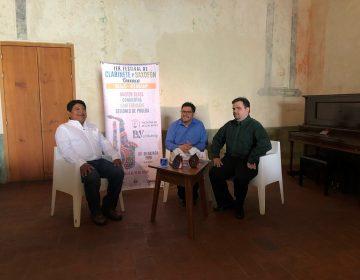 Suena clarinete y saxofón en Oaxaca en primer festival