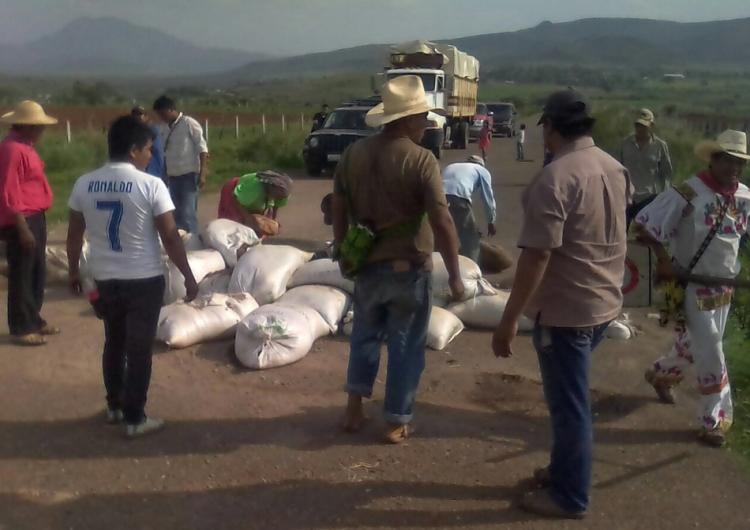 Retiran wixárikas bloqueos al norte de Jalisco tras jornada electoral