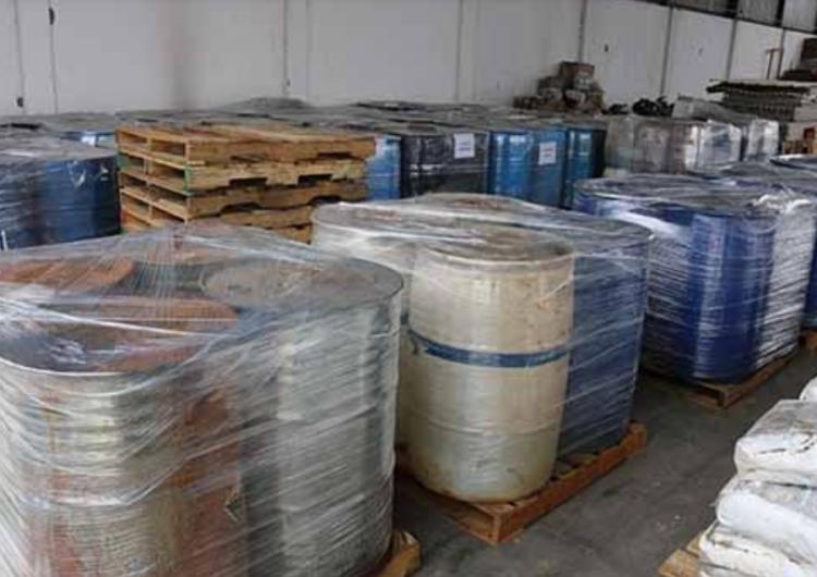 Destruyen más de 28 toneladas de precursores químicos incautados en Jalisco