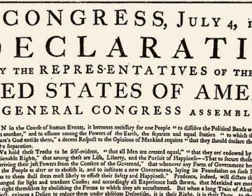 """Facebook censura la Declaración de Independencia de EE. UU. por """"discurso de odio"""""""
