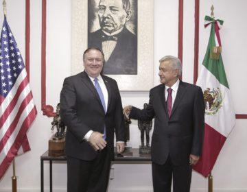 TLCAN, migración y seguridad, los temas que Peña y AMLO trataron con Pompeo