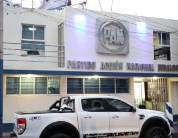 Tras derrota, quieren 8 dirigir al PAN en Hidalgo