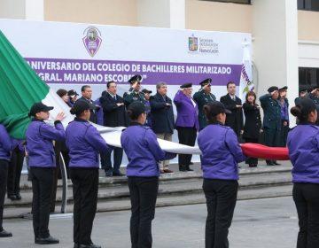 Rodríguez Calderón pide a la Federación dinero para preparatorias militarizadas