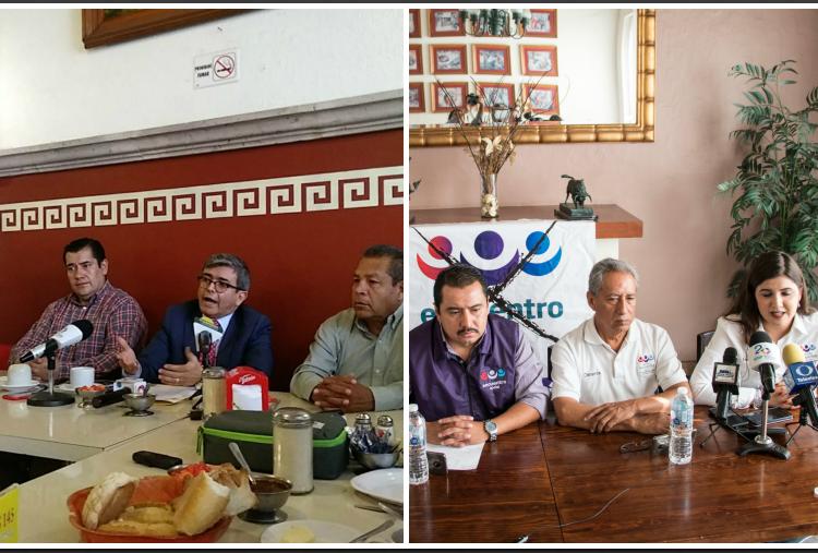 Truenan partidos locales, piden renuncias en PRI y PES