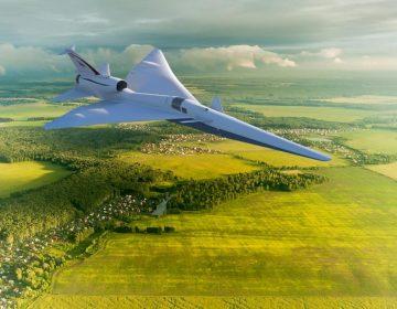 Un avión supersónico y silencioso, el último experimento de la NASA