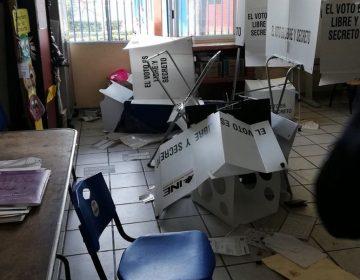 INE reparará escuelas vandalizadas en la jornada electoral del 1 de julio