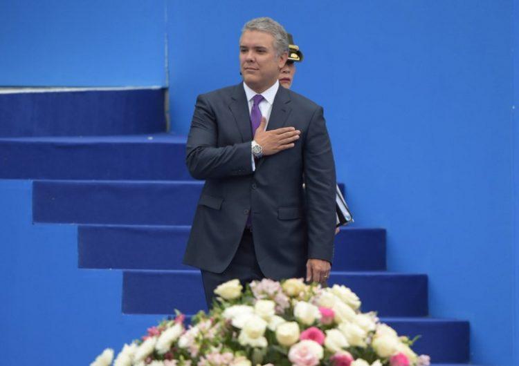 Duque asume la presidencia de Colombia con la oposición en la calle y Maduro en la mira