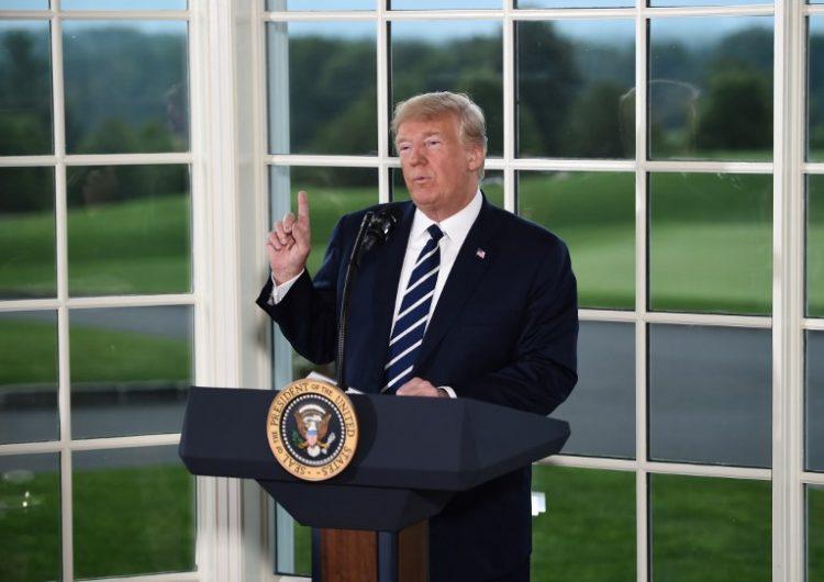 """""""No somos el enemigo de la gente"""": más de 100 medios se unen contra ataques de Trump"""