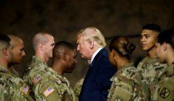 Trump insiste en crear fuerzas armadas para dominar el espacio…