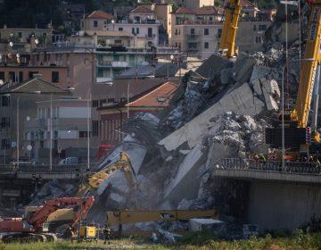 A cinco días de derrumbe en Génova: van 43 muertos y continúa la búsqueda de víctimas