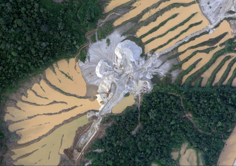 Así luce la Amazonía peruana por la explotación minera y la tala ilegales (fotos)