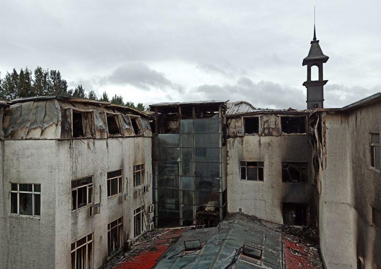Incendio en hotel de China deja al menos 19 muertos y 23 heridos