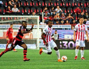 Necaxa sigue sin ganar; pierde 1-0 con Tijuana