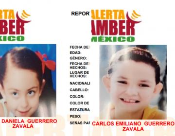 #AlertaAmberSLP Dos hermanos de siete y 11 años, desaparecidos en la capital del estado