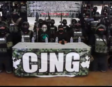 Anuncia Cártel Jalisco Nueva Generación su llegada a Salamanca, Guanajuato