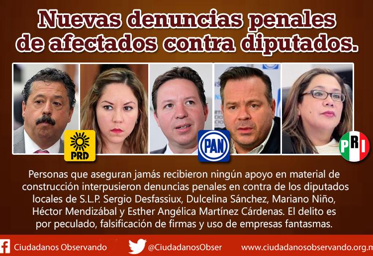 Diputados de San Luis Potosí desvían recursos públicos a través de empresas fantasmas