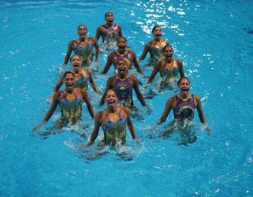 Cinco de cinco: inspiradas en Coco las mexicanas de nado sincronizado se llevan el podio