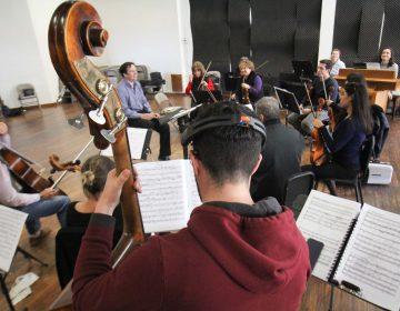 El director de la orquesta