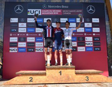 Guanajuatense gana bronce en la Copa del Mundo UCI, Canadá