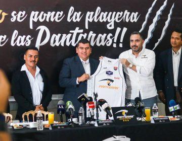 Fomenta Calvillo el deporte con Panteras de Aguascalientes