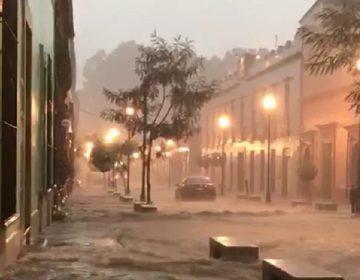 Rompió récord lluvia del viernes 10 de agosto en la ciudad de Oaxaca: Conagua