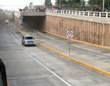 Abren circulación en el paso a desnivel de Av. Aguascalientes y Guadalupe González