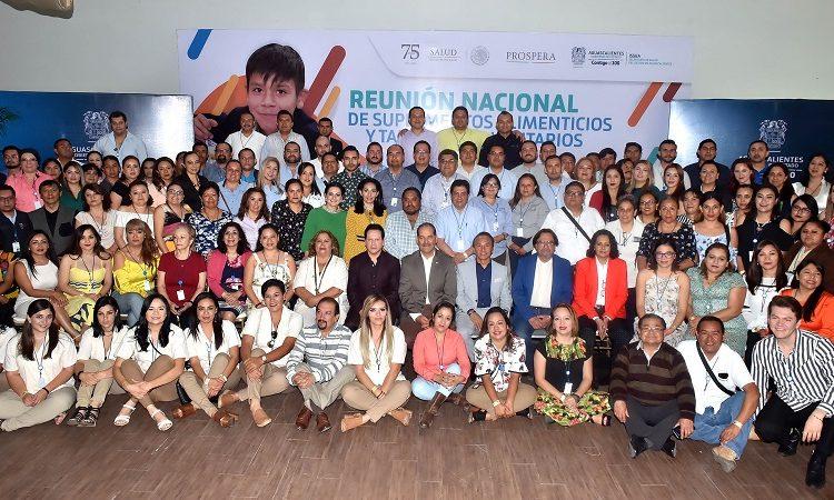 Recibe Aguascalientes reunión nacional sobre nutrición del programa Prospera