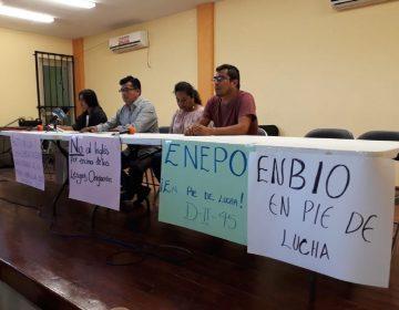 Normales de Oaxaca van contra inglés y nuevo modelo educativo