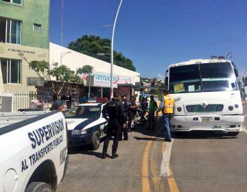 Sanciona Policía Vial Municipal una centena de camiones en mal estado
