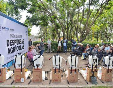 El municipio de JM entregó 700 despensas agrícolas