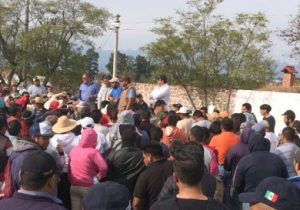 Persisten conflictos por tierras en Ixmiquilpan