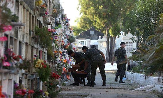 Récord histórico de homicidios en Brasil: alcanza casi 64 mil víctimas en un año