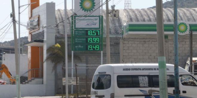 Sobrepasa $20 litro de gasolina en Pachuca