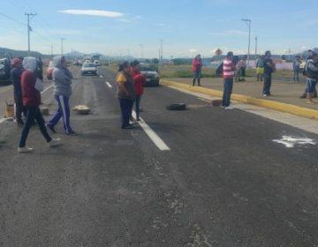 Vecinos protestaron tras fallecimiento de niña atropellada