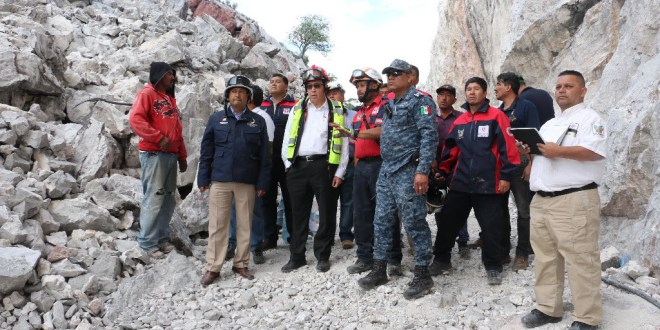 Alistan programa en Tepa; mina seguirá funcionando