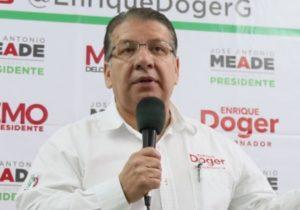Sancionan a Doger Guerrero por violencia política contra Martha Erika Alonso