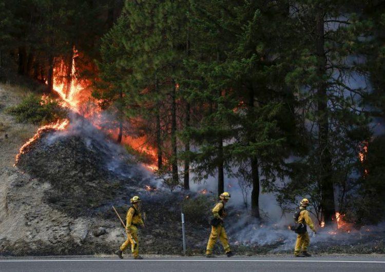 Una llanta ponchada causó el incendio que ha dejado seis muertos en Carr, California