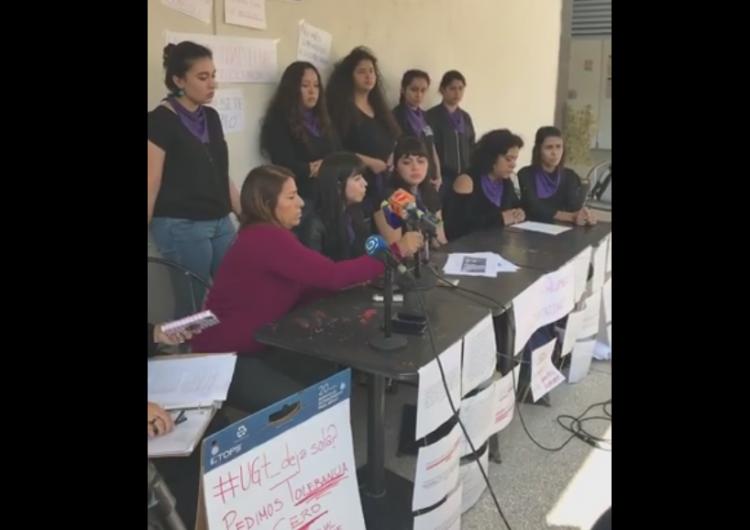 Acoso sexual de académicos a comunidad de la Universidad de Guanajuato