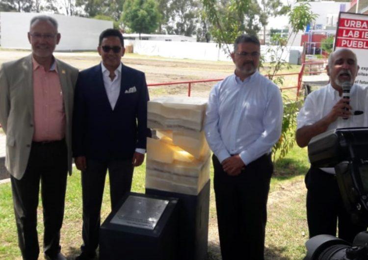 Colocan primera piedra del Urban Living Lab Ibero Puebla