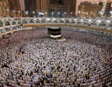 El progreso de los peregrinos a la Meca y su estado de salud