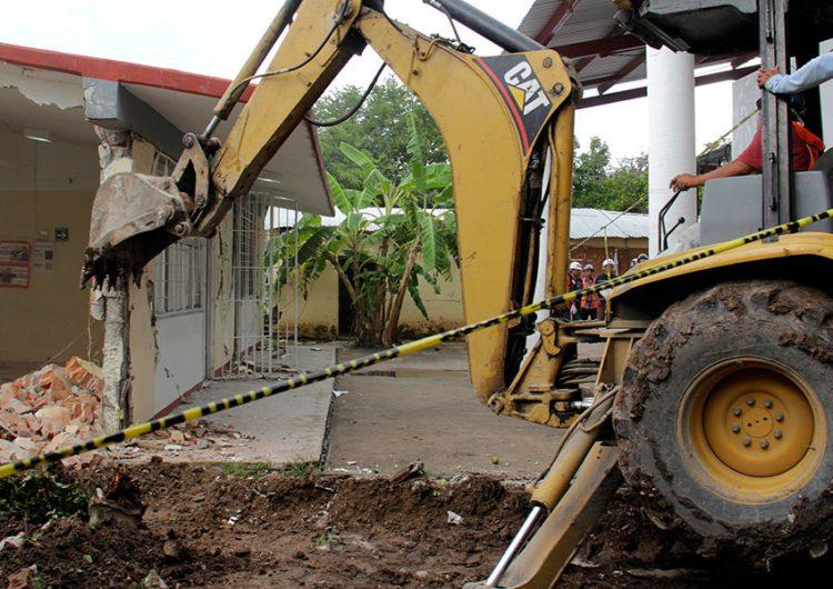 Avances de reconstrucción al 87%