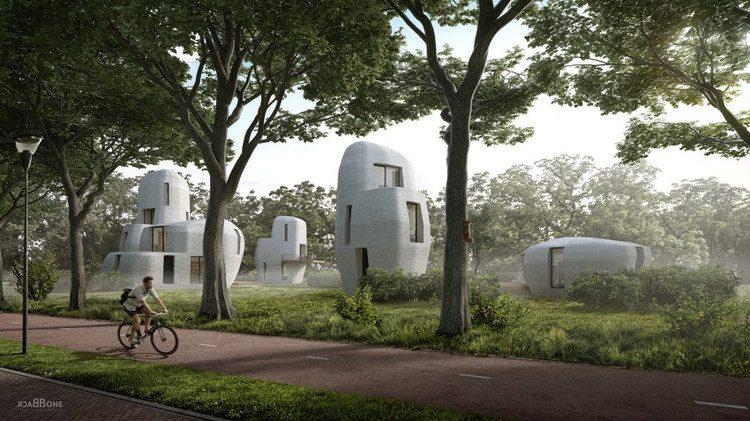 Holanda tendrá las primeras casas construidas con impresoras en 3D