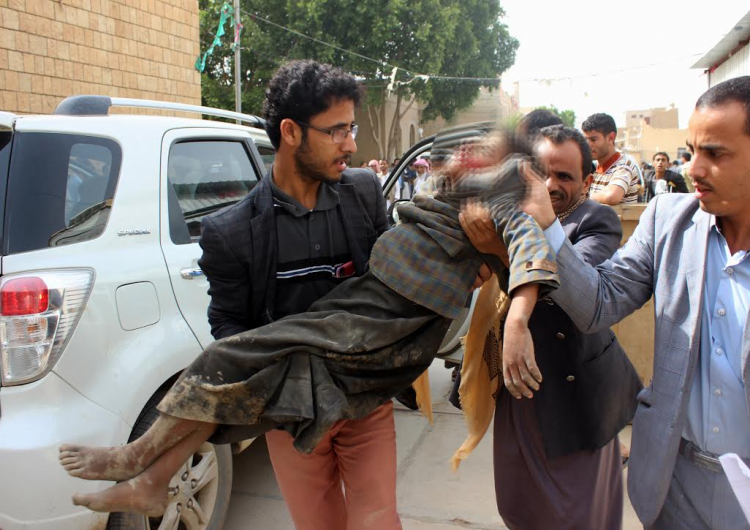 Ataque contra autobús en Yemen deja a 29 niños sin vida