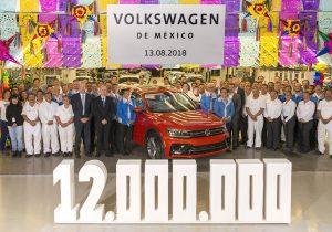 Produce Volkswagen la unidad 12 millones en su planta de Puebla
