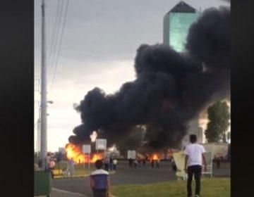 Militares y huachicoleros se enfrentan en Huejotzingo, hay un detenido